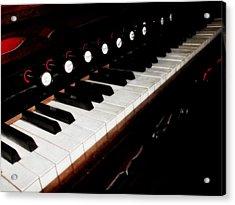 Church Organ Acrylic Print by Scott Hovind