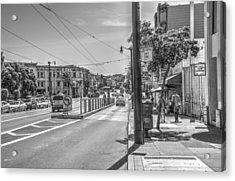 Church St At Market St San Francisco Acrylic Print