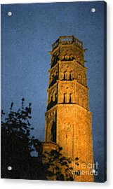 Acrylic Print featuring the photograph Church Steeple by Jean Bernard Roussilhe