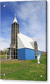 Churches Of Iceland # 2 Acrylic Print by Allen Beatty