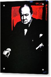 Churchill Acrylic Print