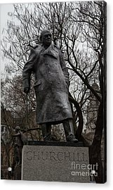 Churchill Acrylic Print