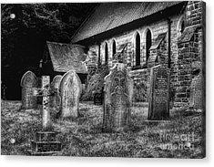 Churchyard Acrylic Print