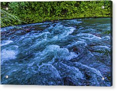 Acrylic Print featuring the photograph Churning Water by Jonny D