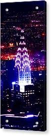 Chyrsler Lights Acrylic Print
