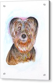 Ciao I'm Viki Acrylic Print by Clyde J Kell