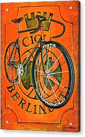 Cicli Berlinetta Acrylic Print by Mark Howard Jones