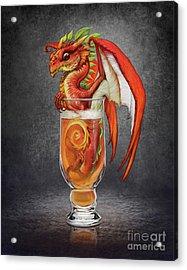 Cider Dragon Acrylic Print