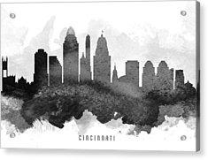 Cincinnati Cityscape 11 Acrylic Print