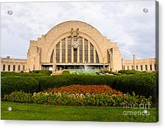 Cincinnati Museum Center At Union Terminal Acrylic Print by Paul Velgos