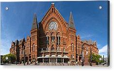 Cincinnati Music Hall Acrylic Print by Rob Amend