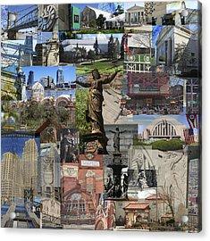 Cincinnati's Favorite Landmarks Acrylic Print