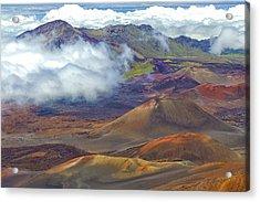 Cinder Cones - Haleakala Acrylic Print