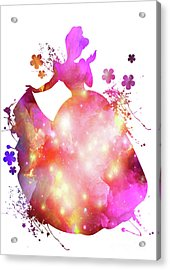 Cinderella  Acrylic Print by Prar Kulasekara
