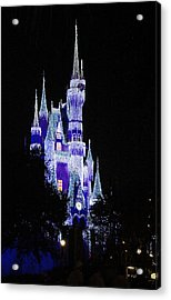 Cinderella's Castle 2 Acrylic Print by Frank Mari
