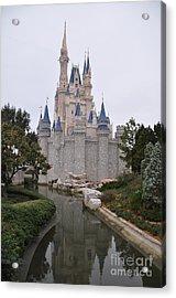 Cinderellas Castle Acrylic Print