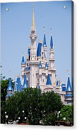Cindrella's Castle Acrylic Print by Thea Wolff