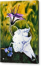 Cindy's Lily Acrylic Print by JoLyn Holladay