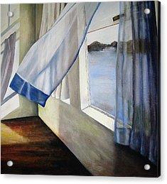Cindy's Window Acrylic Print by Eileen Kasprick
