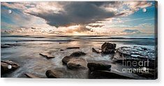 Cinematic Waves Acrylic Print