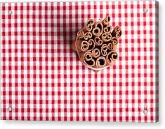Cinnamon Acrylic Print by Nailia Schwarz