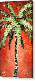 Cinnamon Palm Acrylic Print
