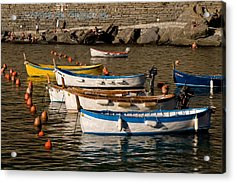 Cinque Terre  Acrylic Print by Carl Jackson