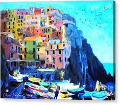 Cinque Terre Acrylic Print