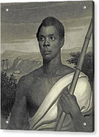 Cinque, The Chief Of The Amistad Captives Acrylic Print by J Sartain