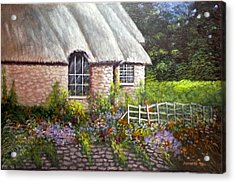 Ciotswold Acrylic Print by Annette Tan