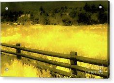 Ciquique Pueblo Meadow 2 Acrylic Print