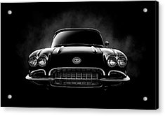 Acrylic Print featuring the digital art Circa '59 by Douglas Pittman