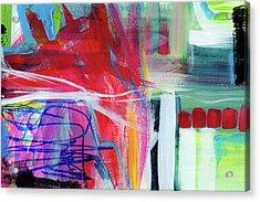 Circadian Rhythm 3- Abstract Art By Linda Woods Acrylic Print