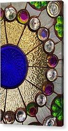 Circle Central Acrylic Print by Linda Mishler