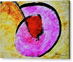 Acrylic Print featuring the painting Circle Of Life by Joan Reese