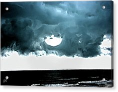 Circle Of Storm Clouds Acrylic Print