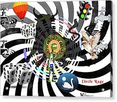 Circle Rage II Acrylic Print