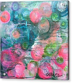 Acrylic Print featuring the painting Circles For San Marco  by Laurie Maves ART