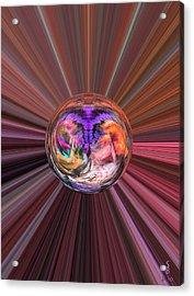 Circles Of Life Acrylic Print