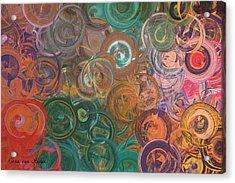 Circles  Acrylic Print by Riana Van Staden