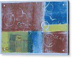 Circling The Key Acrylic Print by Libby  Cagle