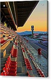 Circuit De Catalunya - Barcelona  Acrylic Print
