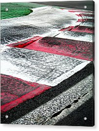 Circuit De Montreal ... Acrylic Print by Juergen Weiss
