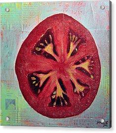 Circular Food - Tomato Acrylic Print