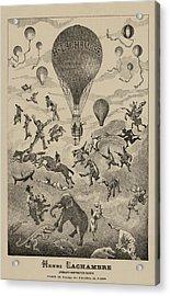 Circus Balloon Acrylic Print