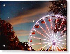Circus Dusk Acrylic Print