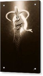Circus Of Horrors - Light Jester Woman Acrylic Print