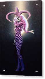 Circus Of Horrors - Super Jester Woman Acrylic Print