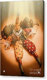 Circus Stage Spotlight Acrylic Print
