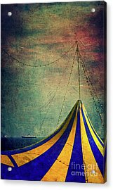 Circus With Distant Ships II Acrylic Print
